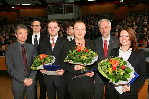 Dr. Christian Gerth (second from left)